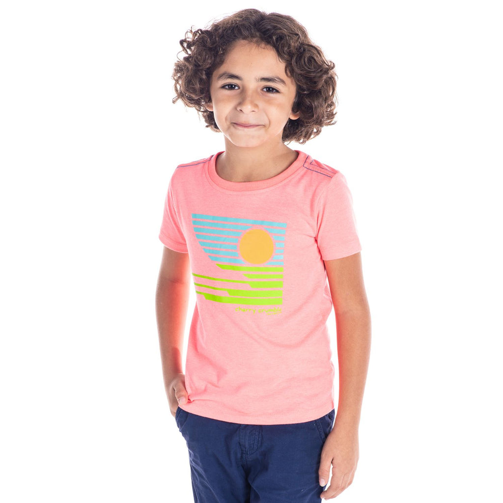 Sunset Tee for Boys