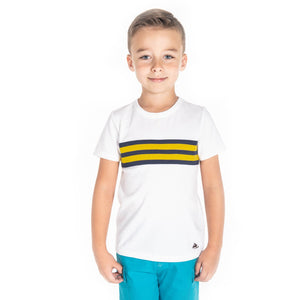 Football Stripes Tee for Boys