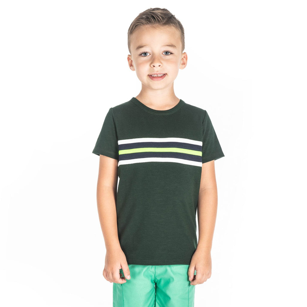 Rugby Stripe Tee for Boys