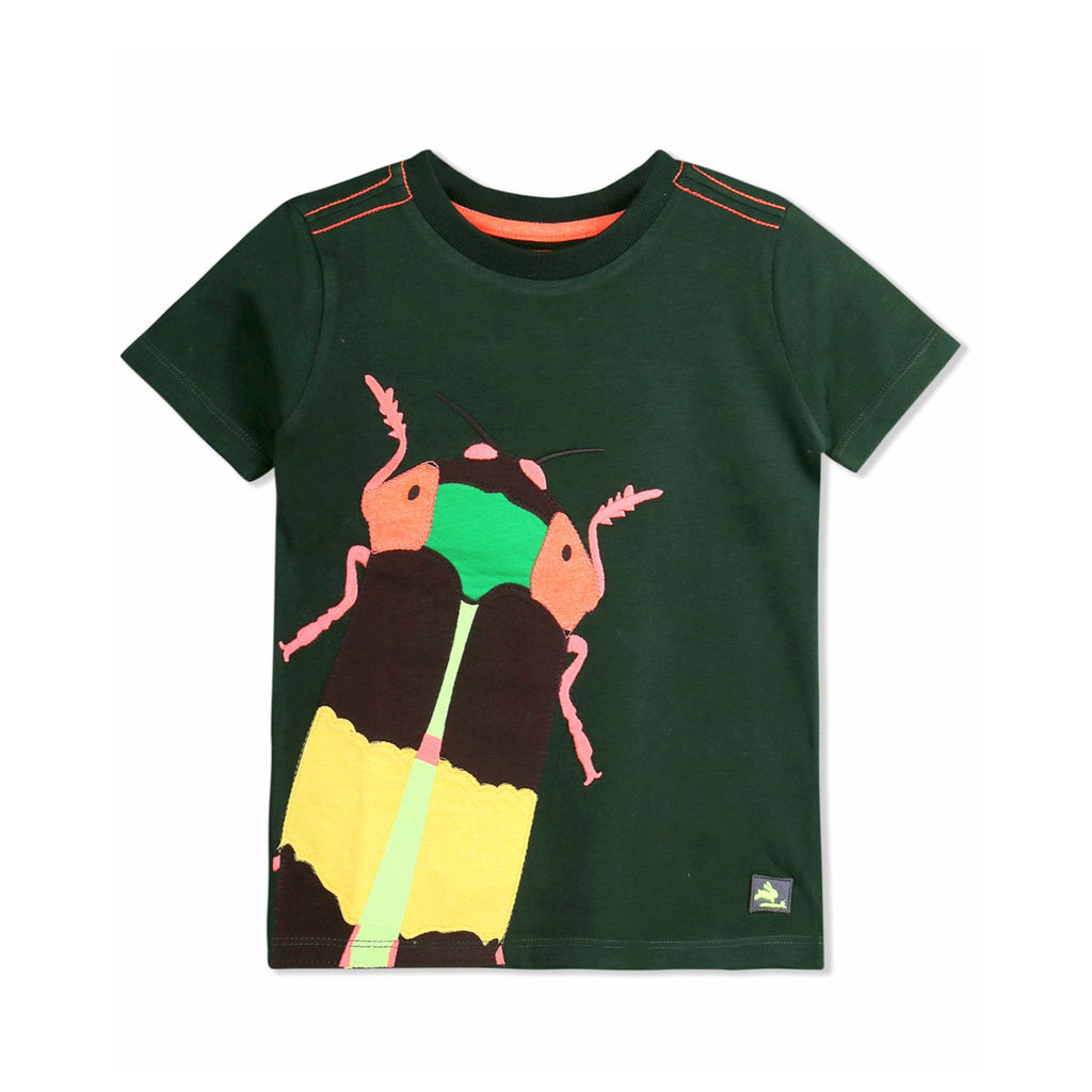 Insect Applique Tee for kids