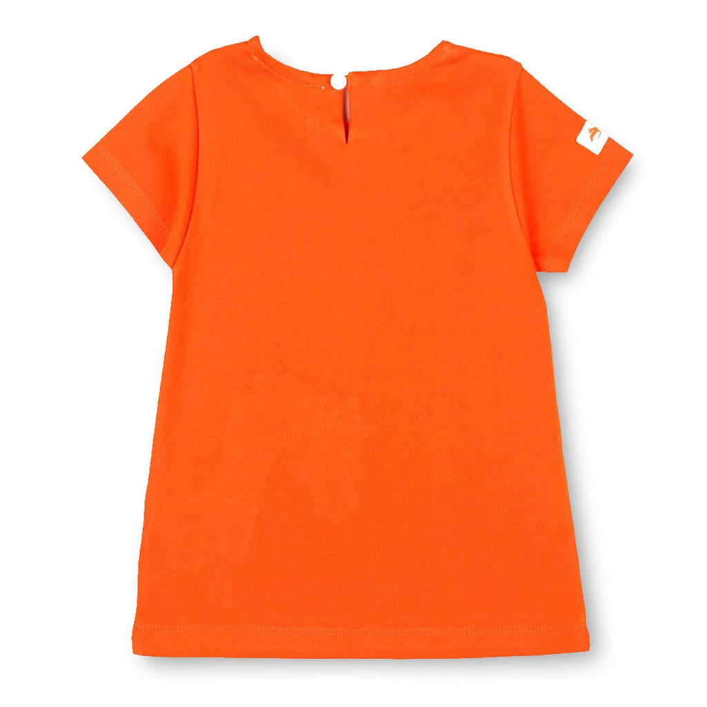 Soft Cotton Felt Applique Tee Top for Girls