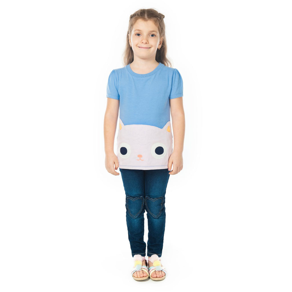 Cheeky Creature Top for Girls