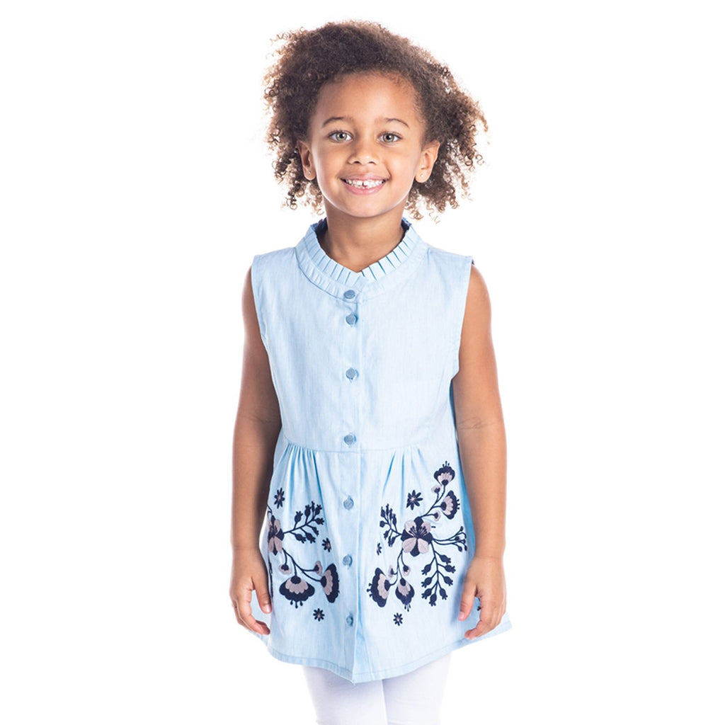 Flora Top for Girls