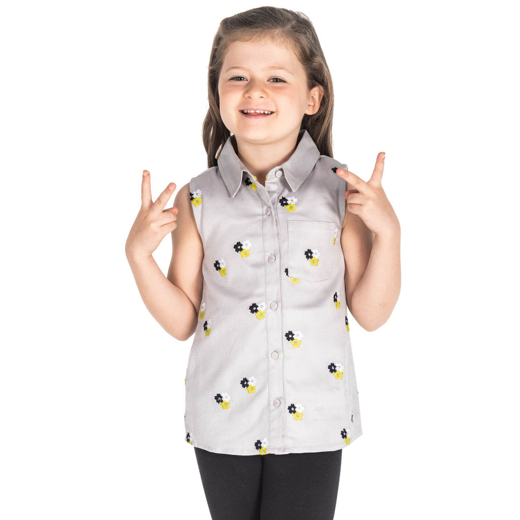 Breeze Flower Top for Girls