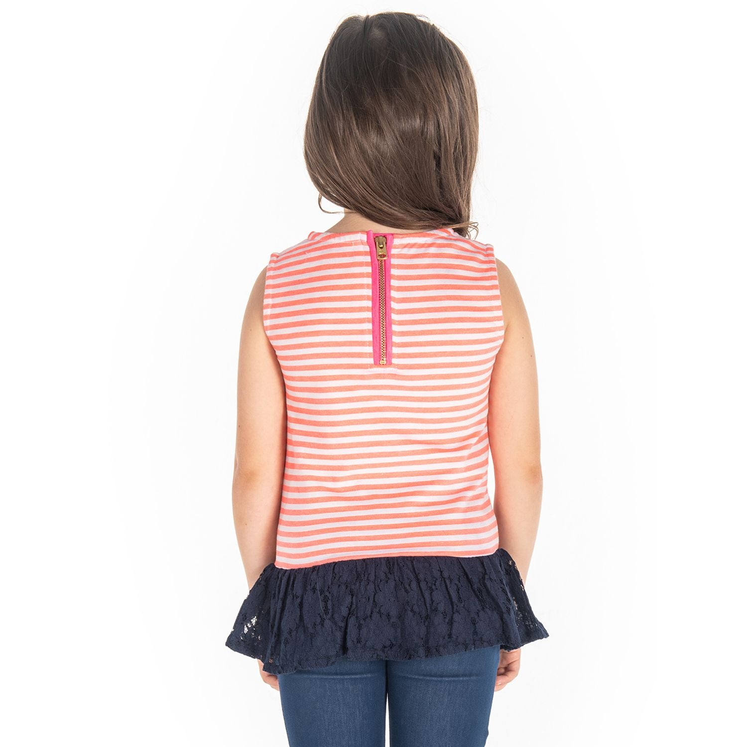 Roller Peplum Top for Girls
