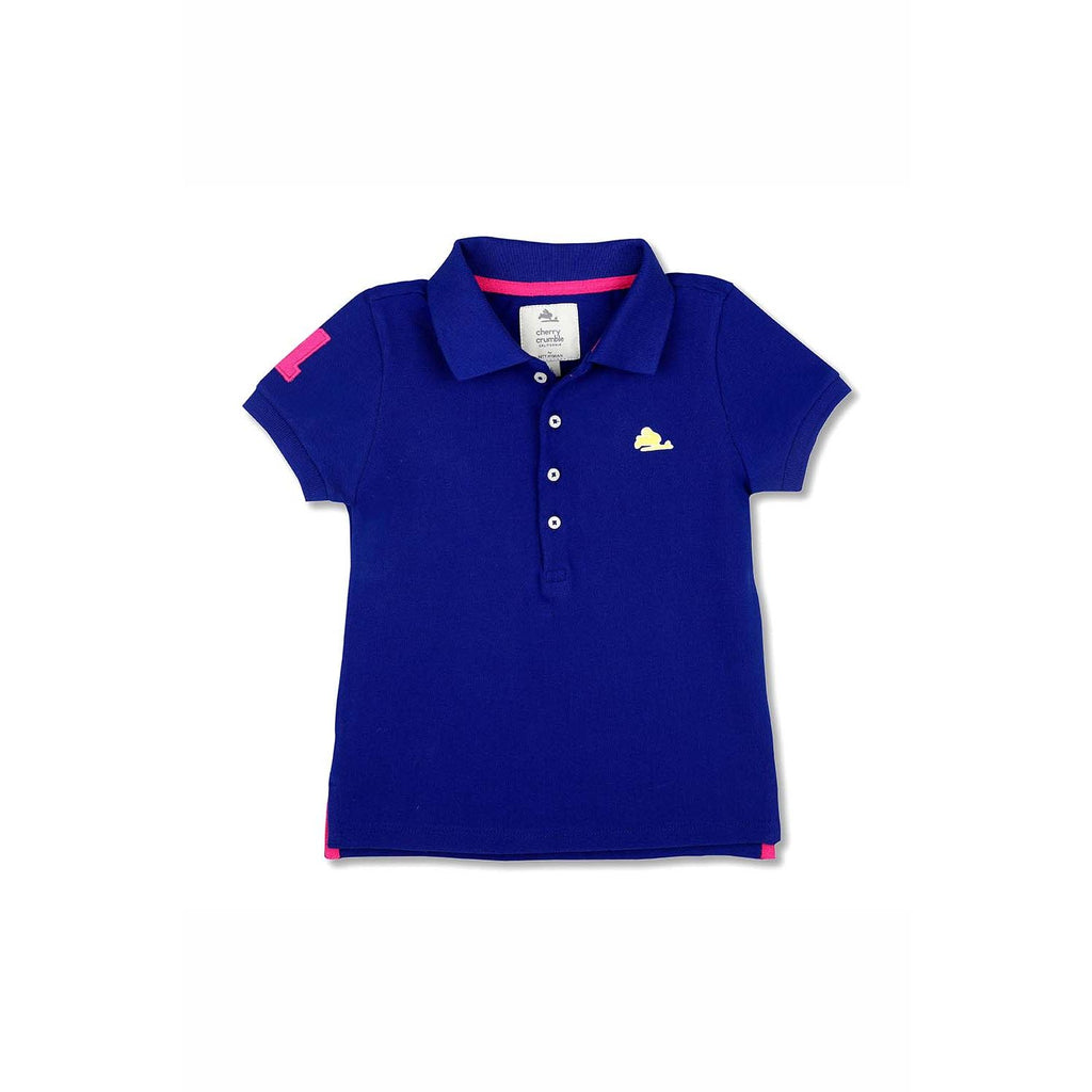 Soft Organic Cotton Polo Shirt for Girls