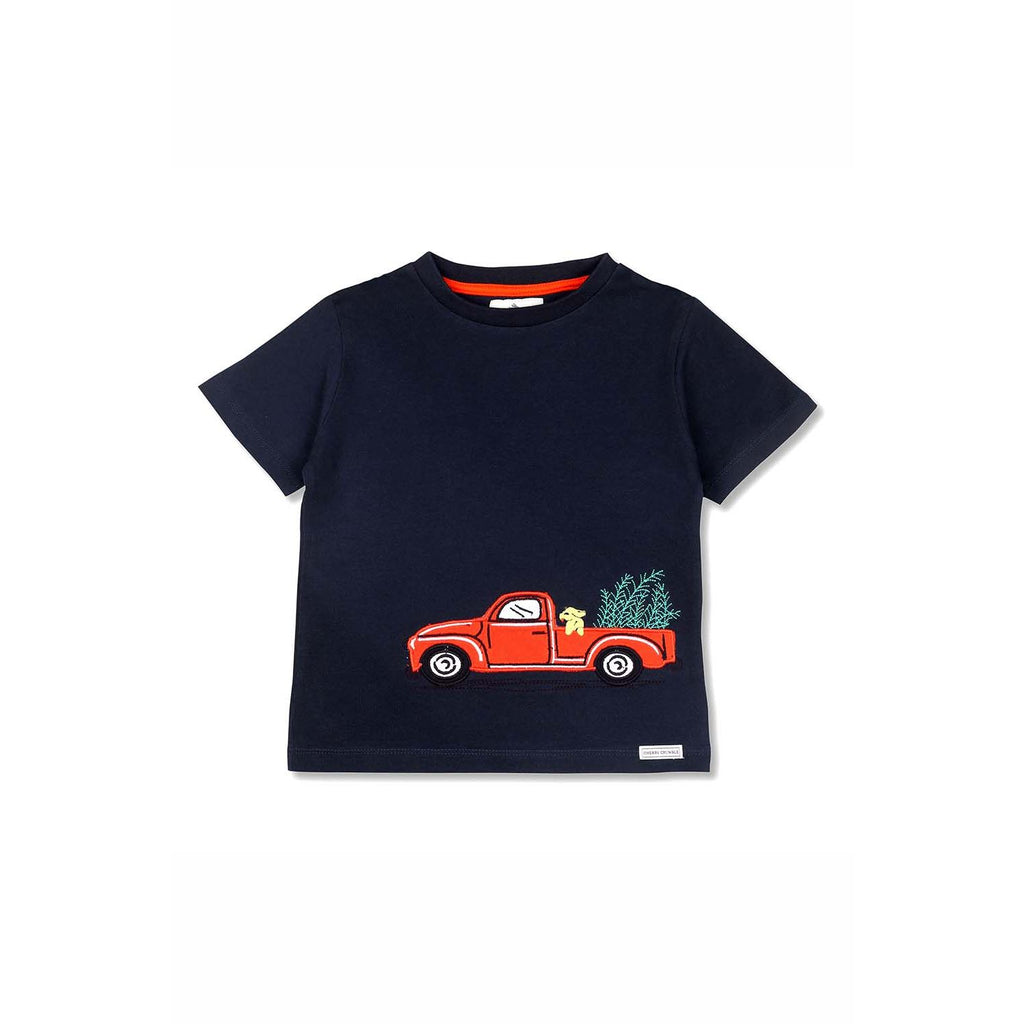 Soft Cotton Applique T Shirt for Boys