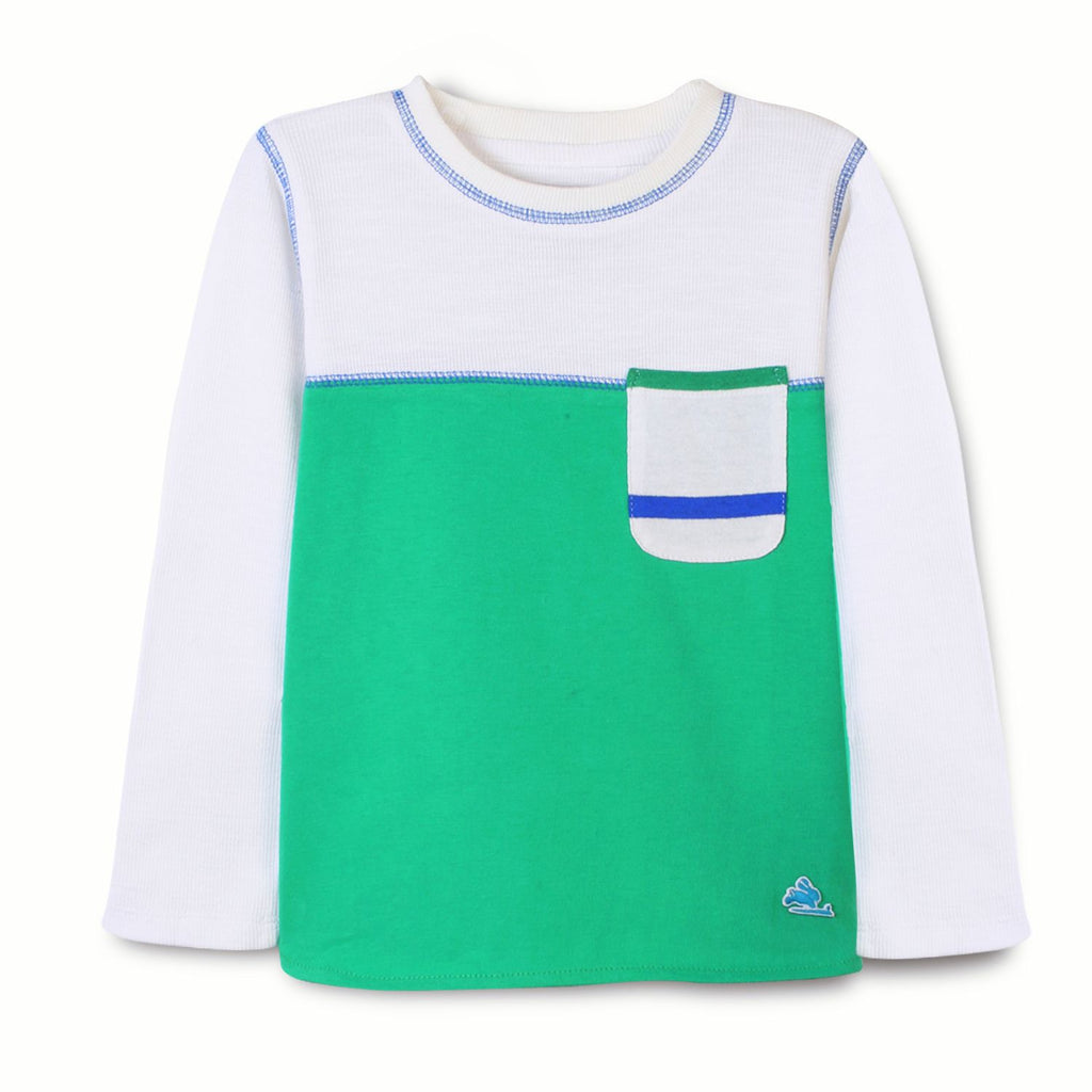 Colorblock Cut N Sew Tee for Boys