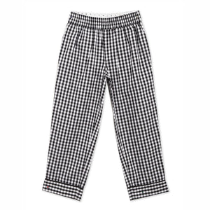 Fun Checkered Nightsuit with Eye Mask