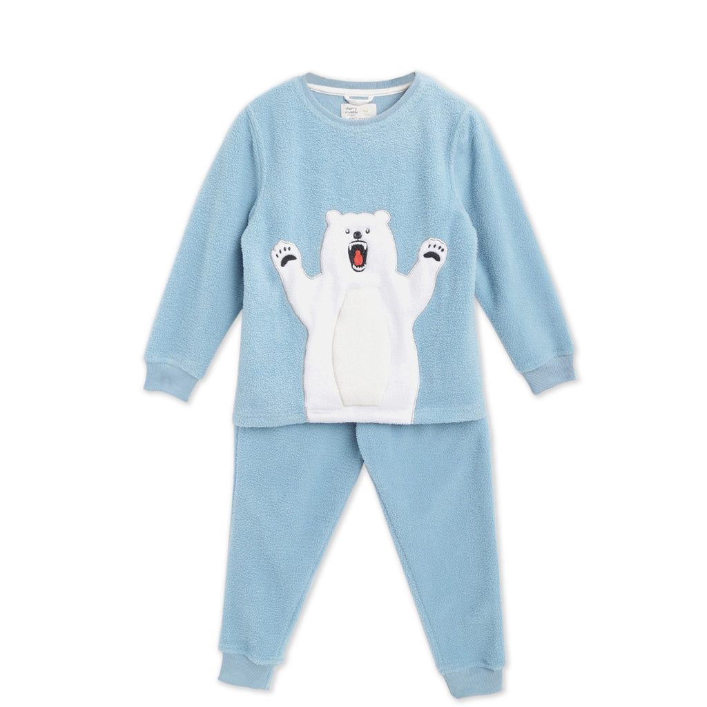 Polar-Bean-Applique-Winter-Nightsuit