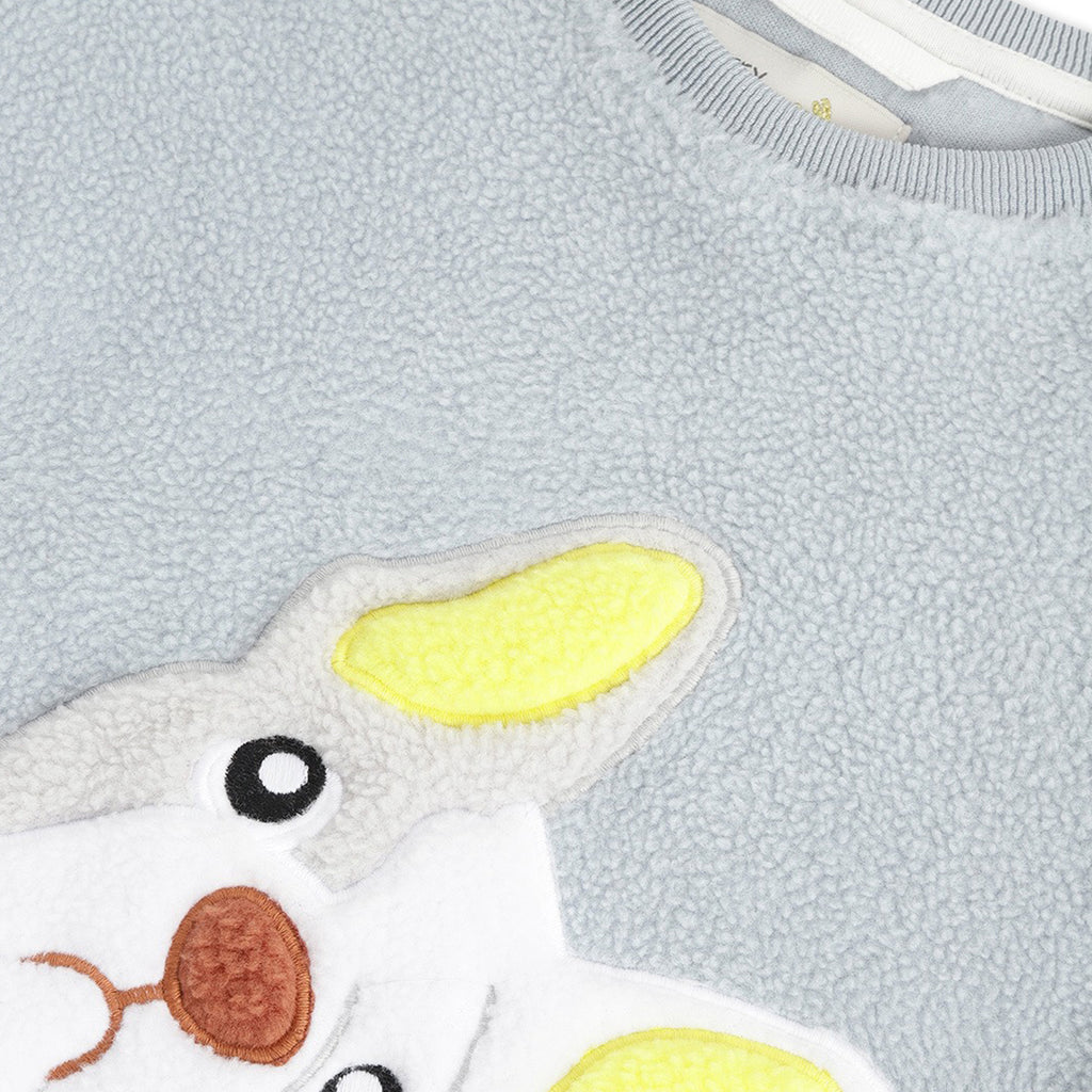 Cute-Applique-Winter-Nightsuit-with-Eye-Mask