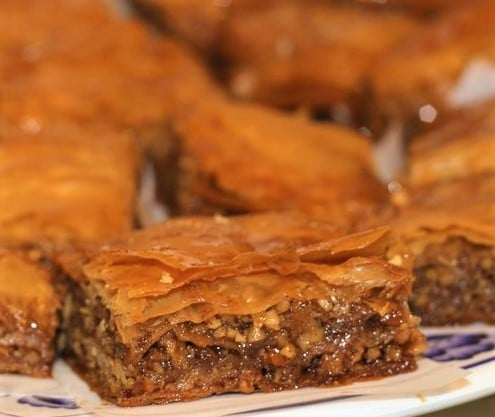 Honey & Blood Orange Baklava