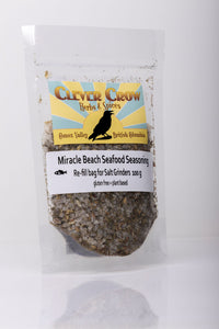 Clever Crow Miracle Beach Seafood Seasoning Refill