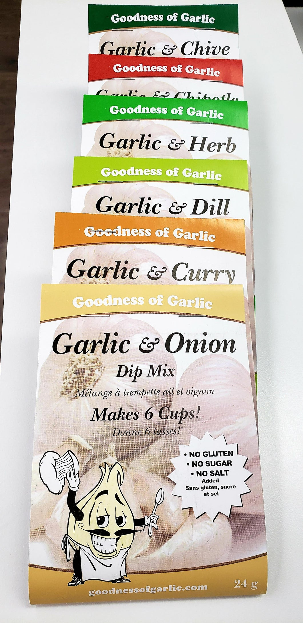 Goodness of Garlic Dip Mix