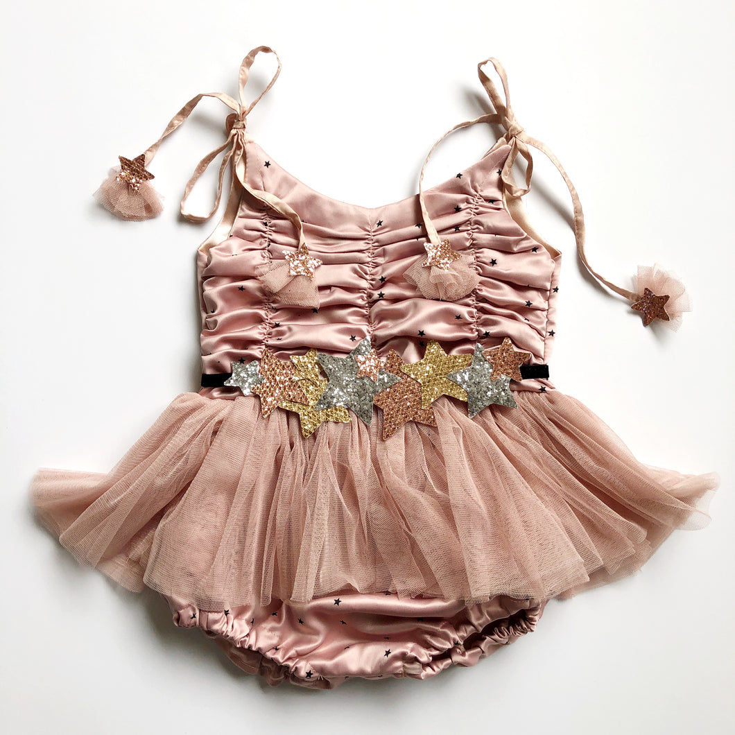 the britney special edition sunsuit {1922 blush star}