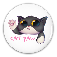 Cat Paw Button Packs