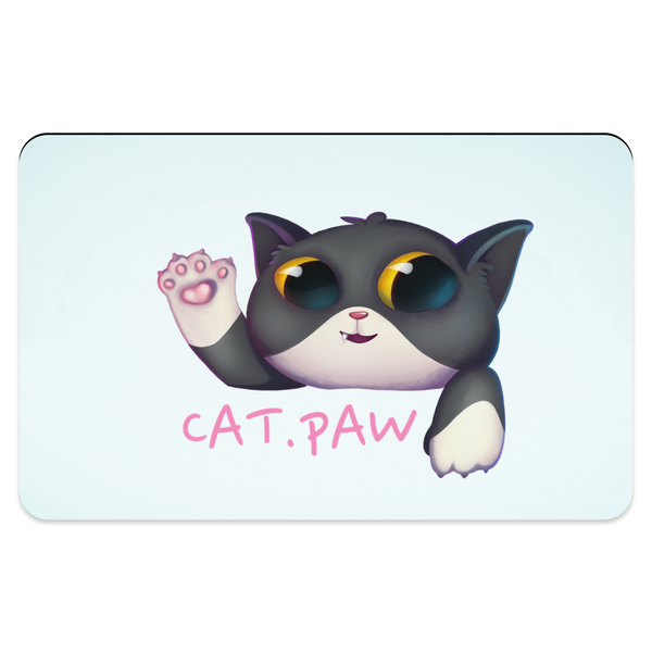 Cat Paw Pet Placemats