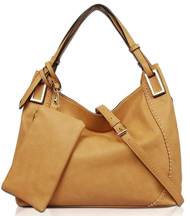 Millie Hobo Shoulder Bag FL1576 - Vietafashion