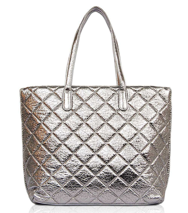 Carol Metallic Tote MT1541 - Vietafashion