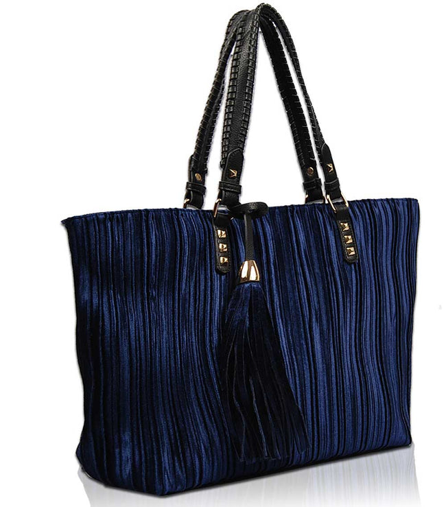 Lumi Velvet Tote Bag VV1517 - Vietafashion