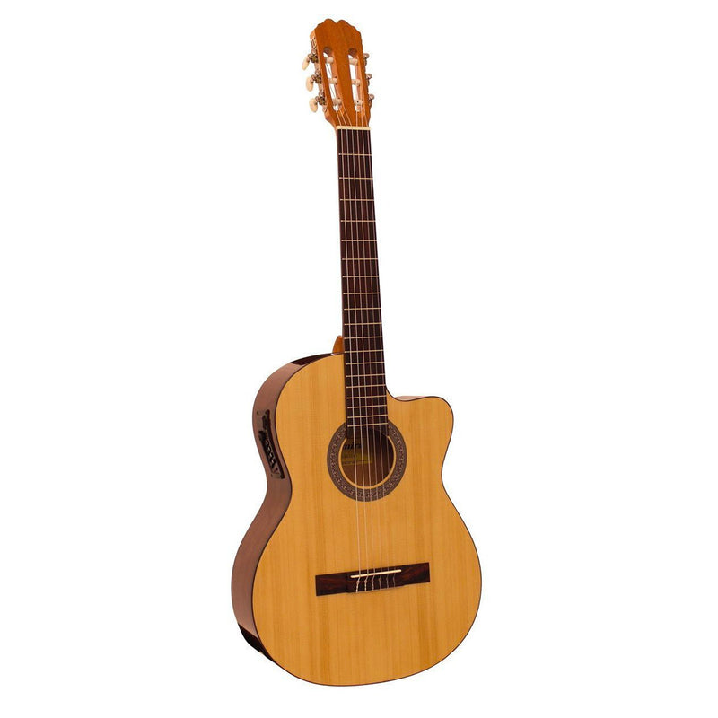 Admira Sara ADM500 4/4 Acoustic/Electric Classical Cutaway Guitar