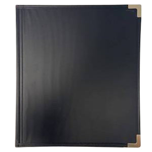 "Allegro ""Best Band Folder"" Concert Band Folio With Gusseted Pockets - Black"