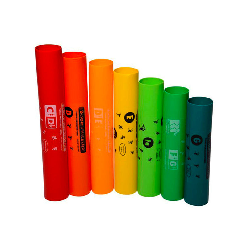 BWEG Boomwhackers 7-Note Treble Extension Set