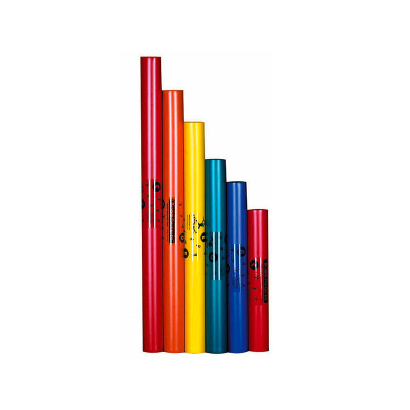 BWPG Boomwhackers 6-Note Pentatonic C-Major Scale Set