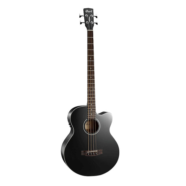 Cort AB850F Acoustic Bass - Black or Natural Satin