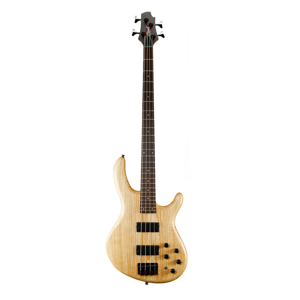 Cort Action Bass Plus DLX Bass Guitar - Open Pore Natural