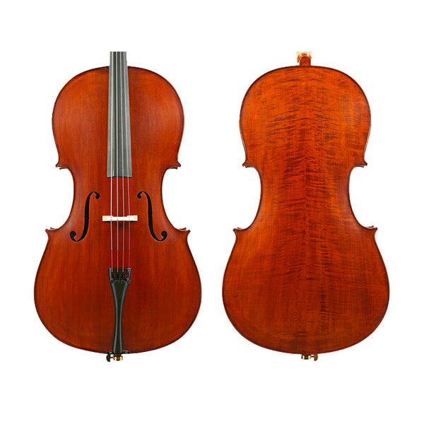Enrico Student Extra Cello Outfit - 1/8, 1/4 or 1/2 Size