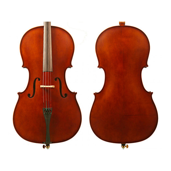 Enrico Student Plus II Cello Outfit - 3/4 or 4/4 Size