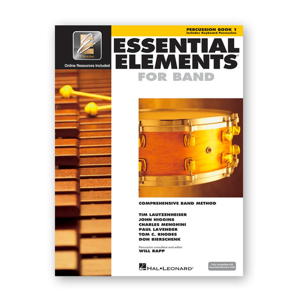 Essential Elements for Band EEi Book 1 - Percussion