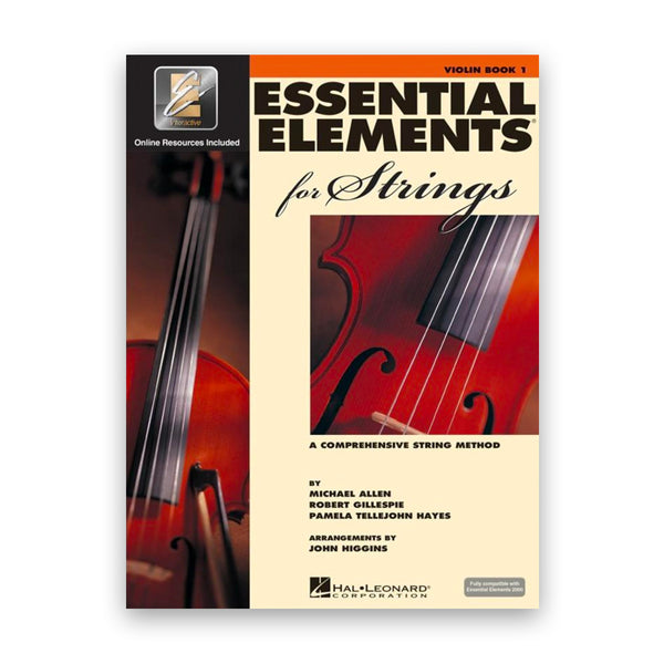 Essential Elements for Strings EEi Book 1 - Instrumental Books