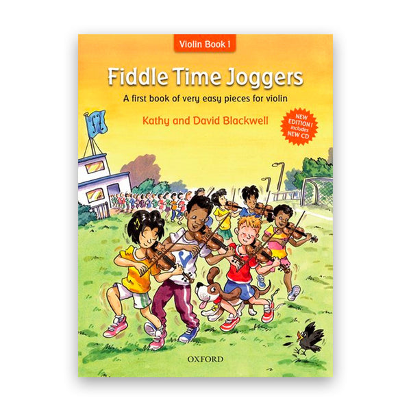 Fiddle Time Joggers with CD - New Edition