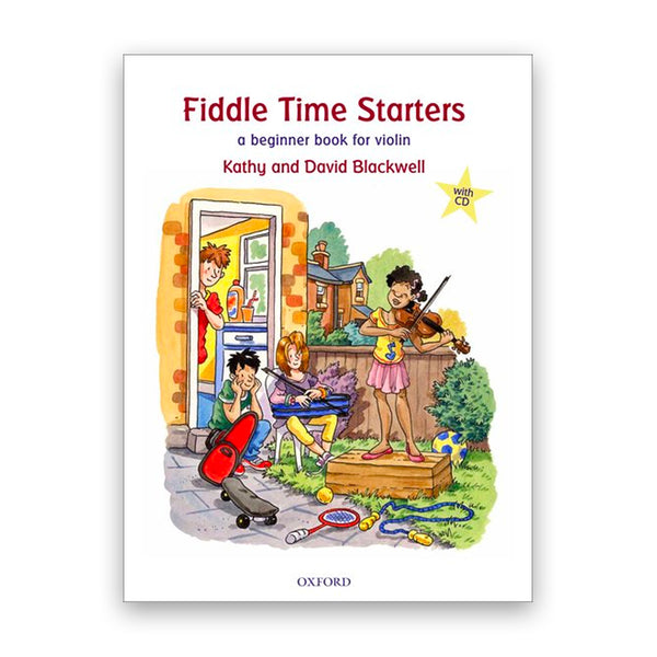 Fiddle Time Starters with CD
