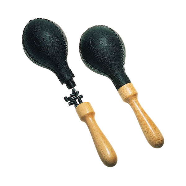 LP LP-281R Maracas - Large Plastic Refillable Black