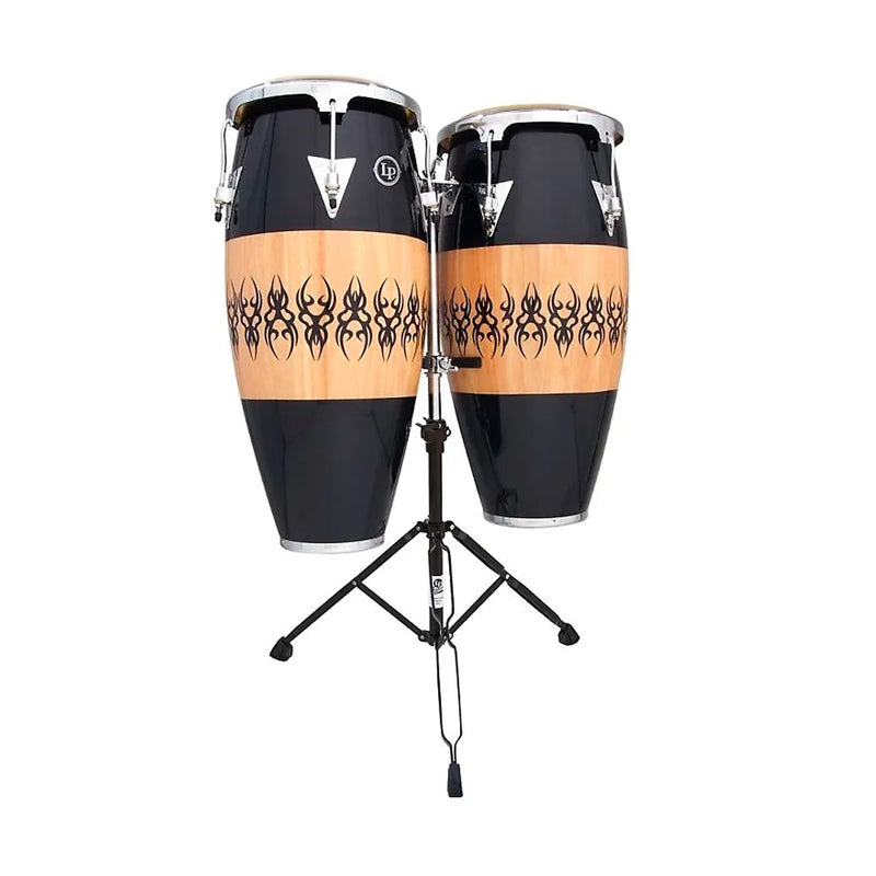 LP Scarab Congas - Aspire Accent 10inch + 11inch with Double Stand