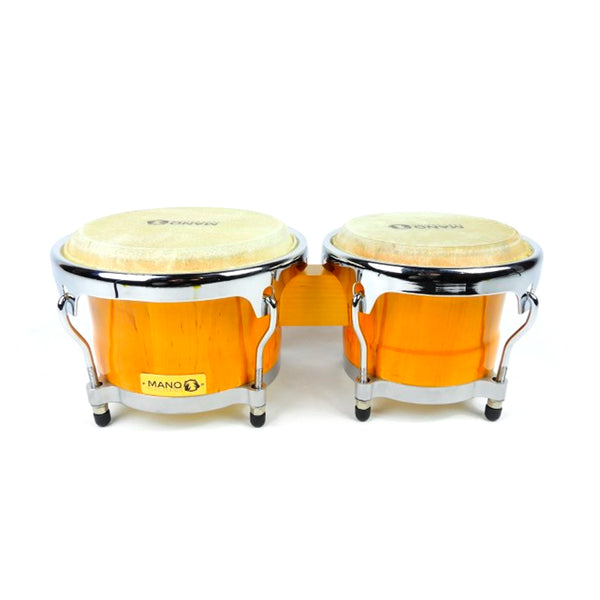 "MANO 17969SB Cuban Style Tunable Bongo  7""and 8½"""