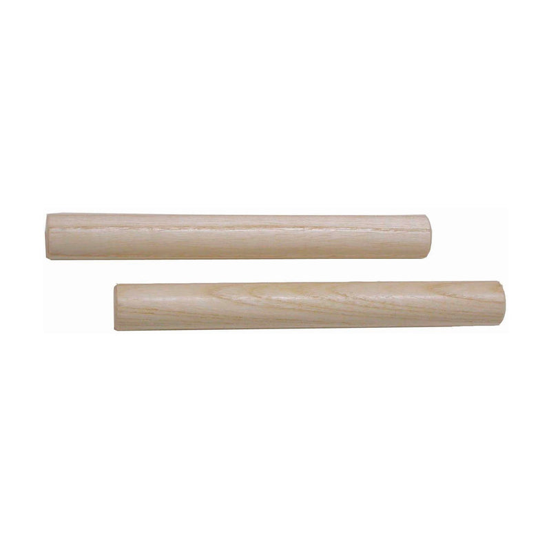 "MANO ED194  Wooden Round 8"" Claves Natural Finish"
