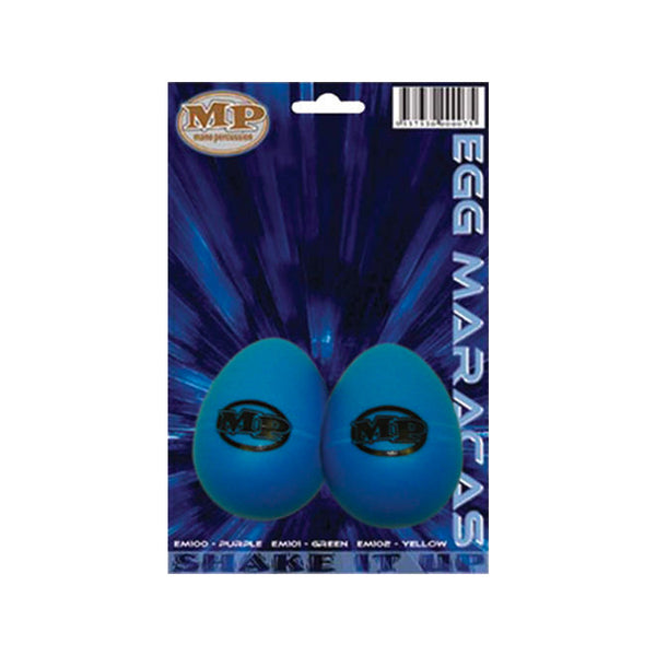 MANO EM103 Maracas Egg Shaped Pair, Blue