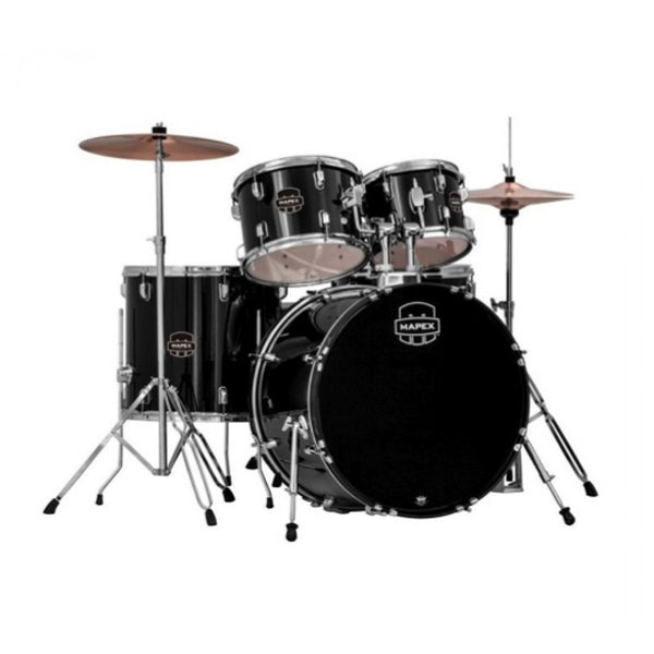 Mapex Prodigy 5pc Drum Kit w/Hardware and Cymbal Pack - Black