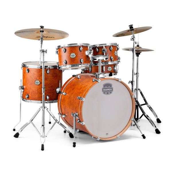 Mapex Storm 5pc Drum Kit with Hardware Pack - Camphor