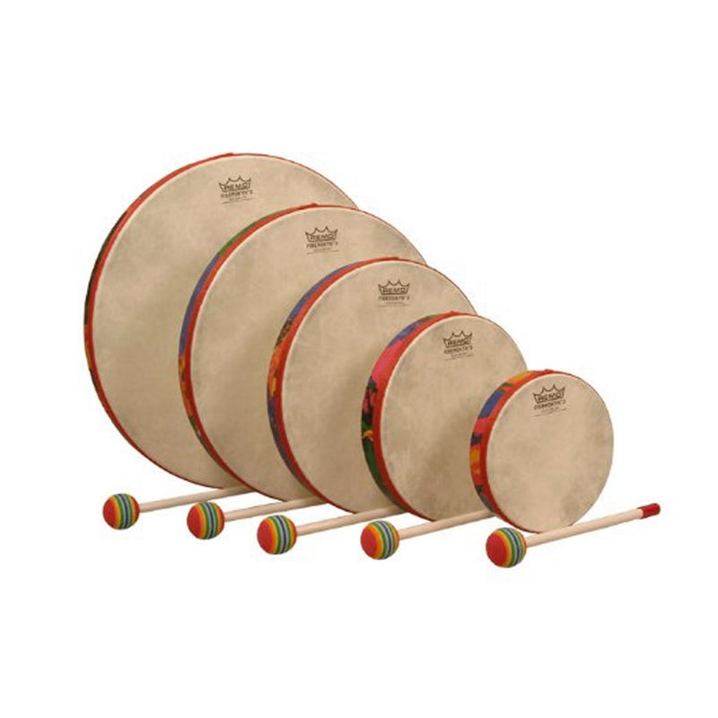 REMO 0106-01 Kids Percussion Hand Drums 5 Piece Set.
