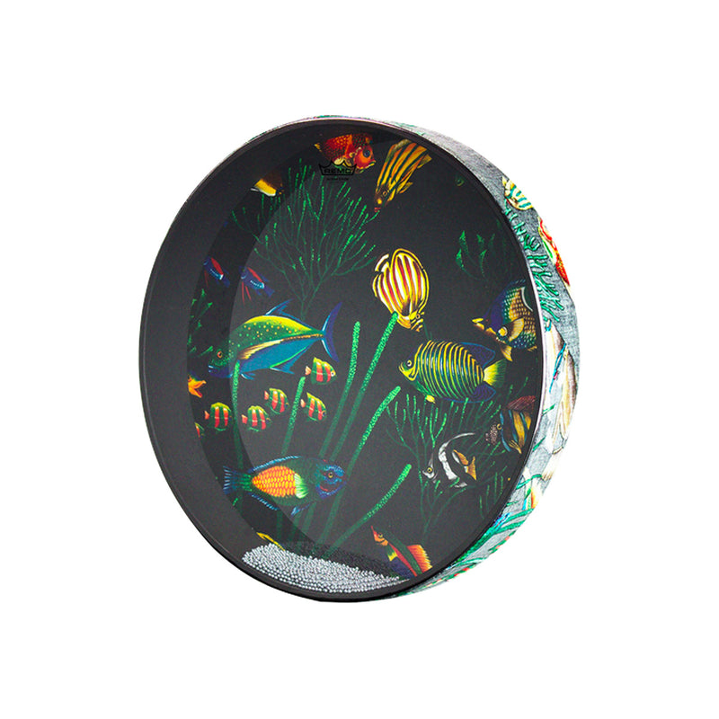 "REMO OC12 12"" Ocean Drum Fish Graphic"