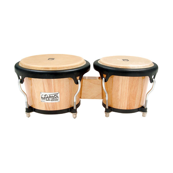 TOCA 2700N Players Series Wood Bongos In Natural Finish 7 & 8 1/2""