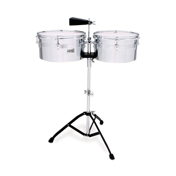"TOCA TOCTPT1314 Timbale  Players Series Set 13 & 14"" in Chrome"