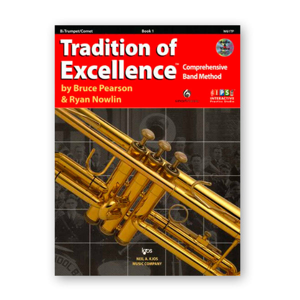 Tradition of Excellence Book 1 - Instrumental Books