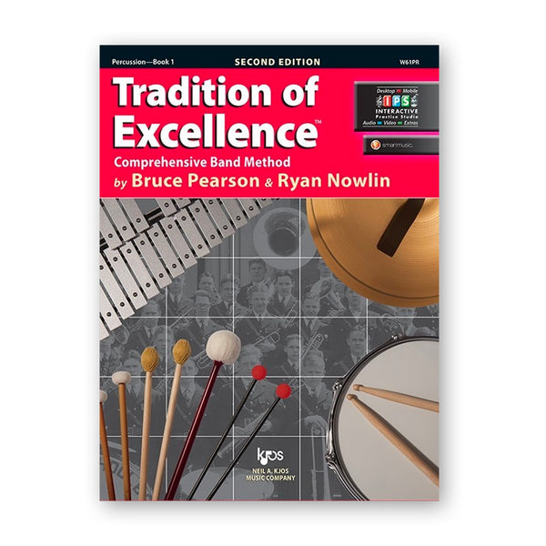 Tradition of Excellence Book 1 - Percussion Book