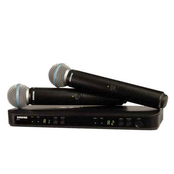 Shure BLX288 / Beta58 Dual Wireless (2) Mic System K14